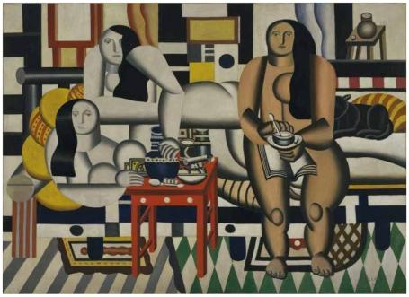 Fernand Léger. Trois femmes. 1921-1922. Museum of Modern Art. New York.