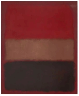Mark Rothko. N°46 (Noir, Ocre, Rouge sur Rouge). The Museum of Contemporary Art. Los Angeles.